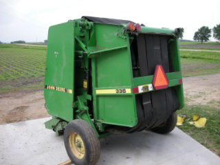 John Deere 335 round baler Parts Operator manual